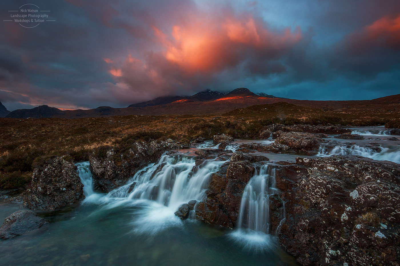 Allt Dearg Waterfall Isle of Skye Photography Workshop