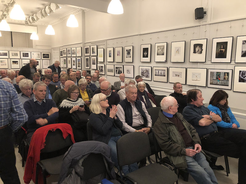 Photography Talk at Edinburgh Photographic Society Alan Hewitt Photography