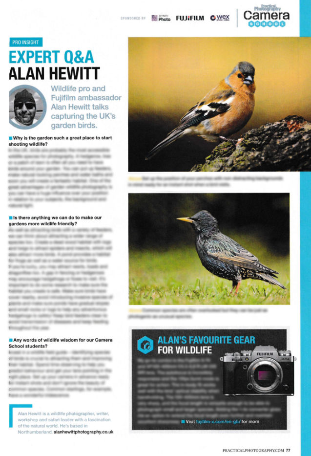 Practical Photography Magazine Alan Hewitt Photography